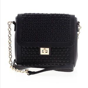 Black & Gold Crossbody Bag